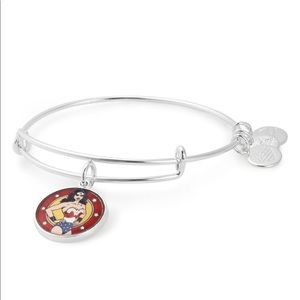 🆕ALEX AND ANI Wonder Woman Silver Bangle